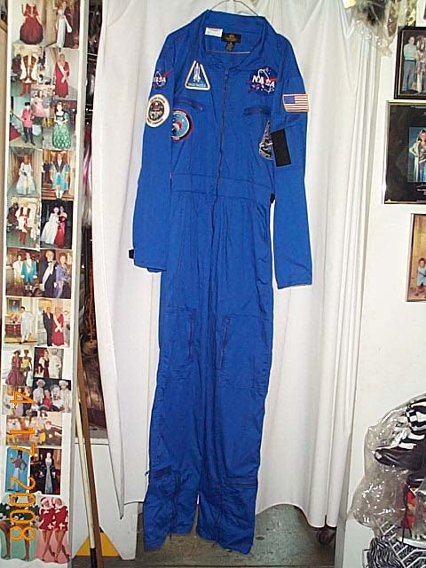 nasa jumpsuit blue - photo #12