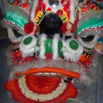 Chinese dragon head front(2)