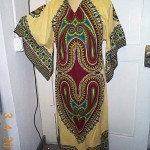 Dashiki-yellow print