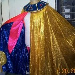 cape gold lame' multi lining
