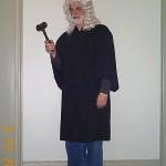 judge robe male