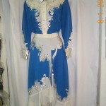 Cowgirl- blue, white, silver--1