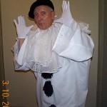 clown-Pierrot beret