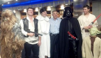 NY Yankees Star Wars